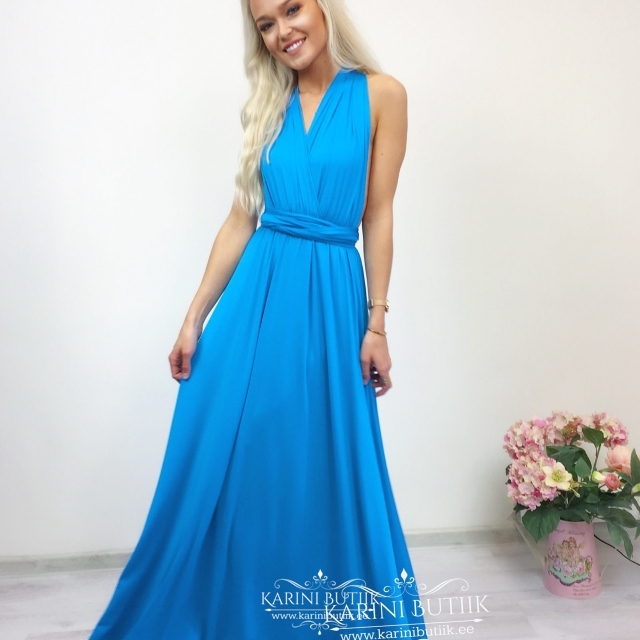 Bridesmaid Long Dress (multi way wrap)