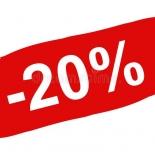 Allahindlus -20%