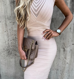 Bandage kleit