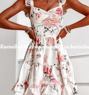 Lilleline õlasatsidega kleit