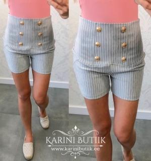 Lühikesed püksid tekstiil triibulised