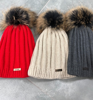 Fliisiga talvemütsid