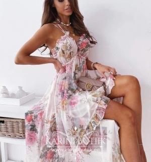 Õhuline kleit eest lühem
