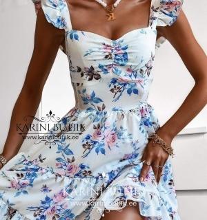 Lilleline kleit õlasatsiga
