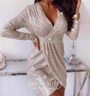 Pidulik littritega kleit