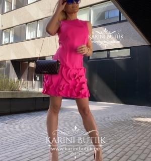 Fuksia värvi kleit