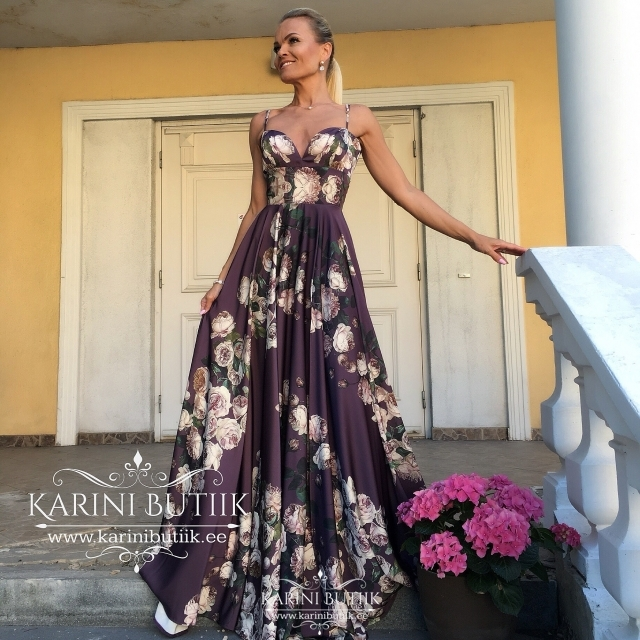Exclusive evening dress