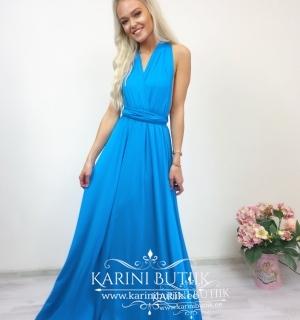 Bridesmaid Long Dress (multi way wrap)